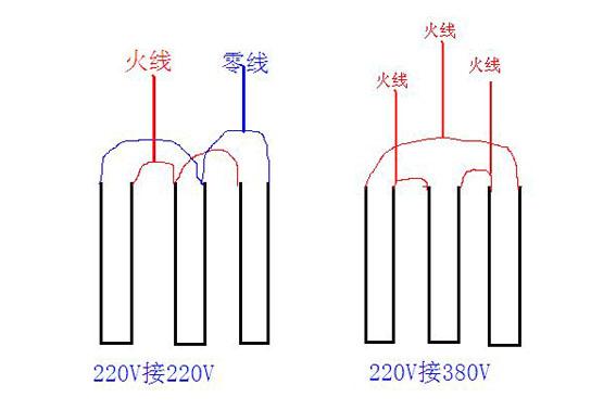 380v电加热管接线图-技术支持--kanthal康泰尔丝
